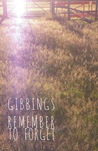 Remember to Forget by Jonny Gibbings