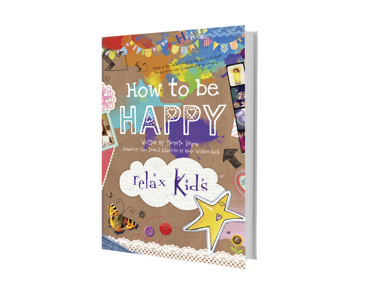 Image of Relax Kids How to be Happy book