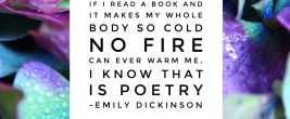 Emily Dickinson Poetry Quote