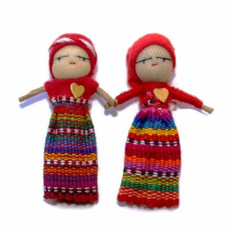 Image of Guatemalan Worry dolls